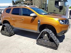 Video: Una curiosa Dacia Duster con orugas en vez de ruedas