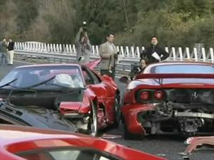 Top 10: Los accidentes de autos más caros