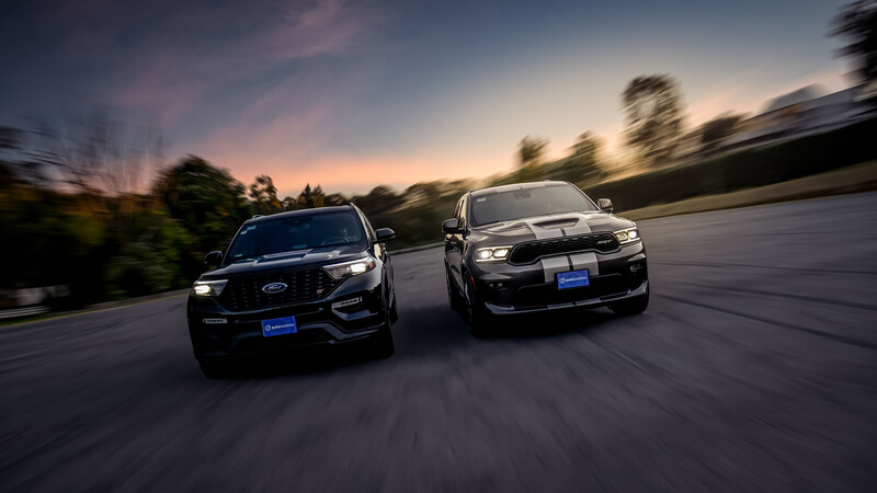 Ford Explorer ST vs Dodge Durango SRT, deportividad y lujo para toda la familia