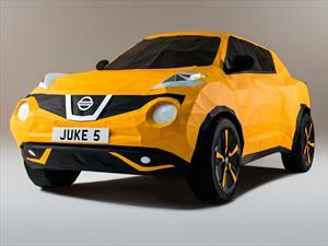 ¡Un Nissan Juke fabricado con origami!