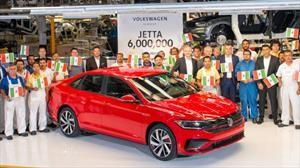 Volkswagen Jetta alcanza 6 millones de unidades producidas en Puebla