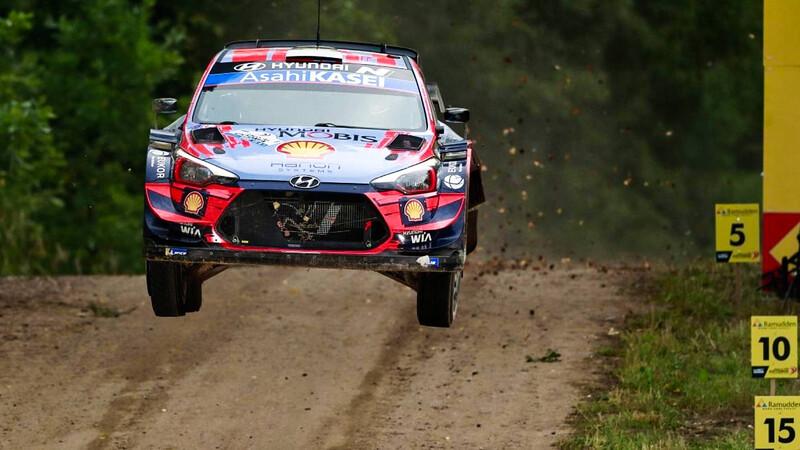 WRC 2020: En el regreso ganó Tänak