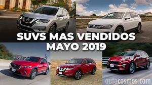 Los 10 SUVs más vendidos en mayo 2019