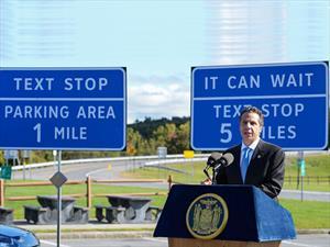 Nueva York ya tiene zonas para mandar mensajes de texto