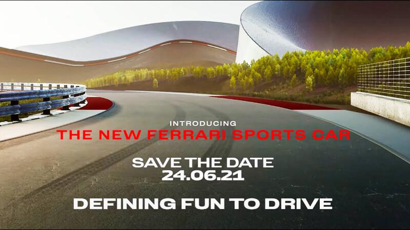 Video: Ferrari ya le puso fecha de lanzamiento a su nuevo deportivo híbrido