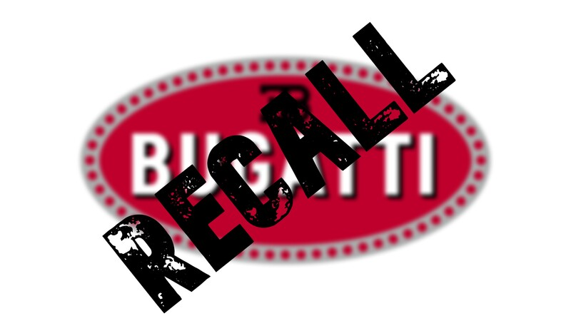 Increíblemente, existe un recall de Bugatti al Chiron y Divo