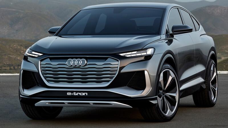 Audi Q4 Sportback e-tron Concept, una SUV 100% eléctrica
