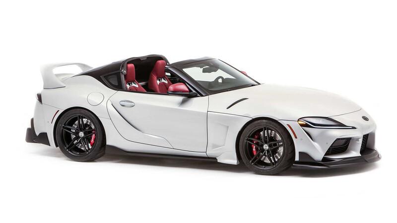 Conoce al Toyota Supra Targa, una modificación realizada para el SEMA Show