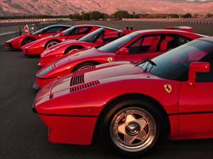 Duelo de arrancones entre los cinco Ferrari más impactantes de la historia