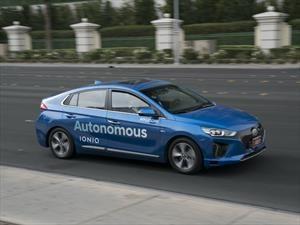 Hyundai presenta sus tecnologías de conducción autónoma en el CES 2017