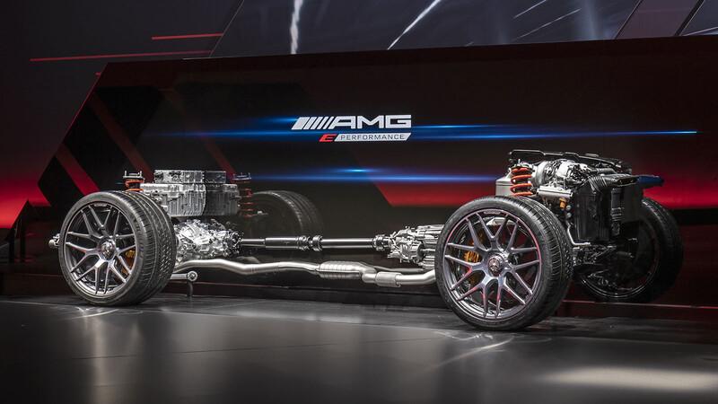AMG E-Performance, todo lo que tienes que saber de los futuros deportivos híbridos