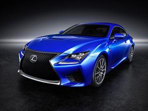 Lexus RC F hace su presentación en sociedad en el Autoshow de Detroit