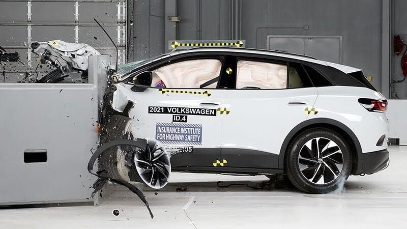 Volkswagen ID.4 2021 fue premiado por su seguridad