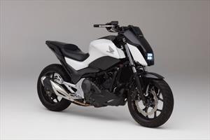 La motocicleta de Honda que se estabiliza sola