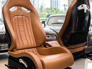 Por extraño que parezca, ponen a la venta el interior de un Bugatti Veyron