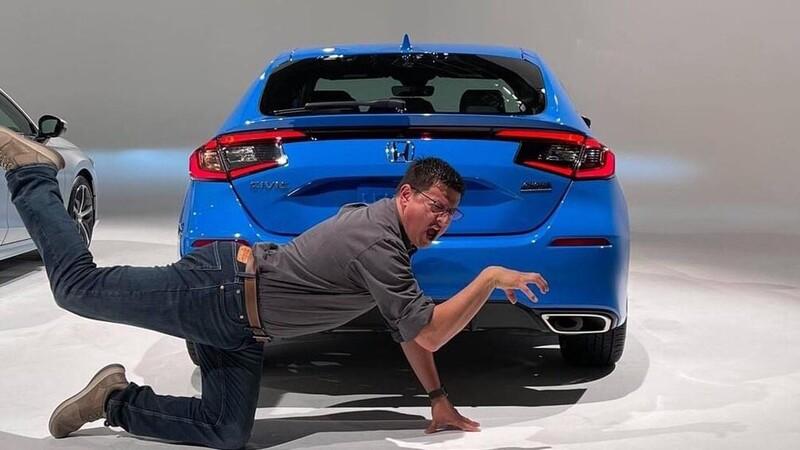 Nuevo Honda Civic hatchback se filtra por culpa de un youtuber