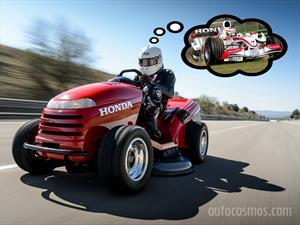Podadora Honda bate récord de velocidad