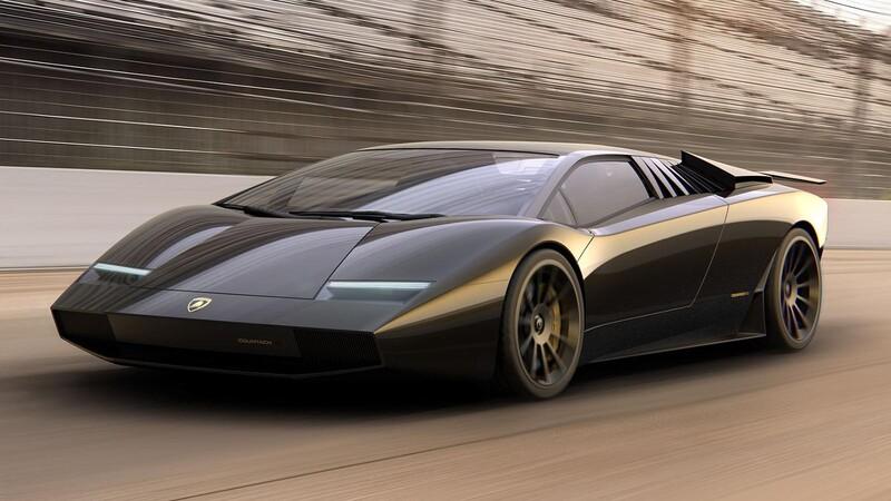 ARC Design le gana el quien vive a Lamborghini con espectacular tributo al Countach