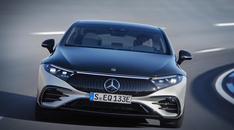 Mercedes-Benz EQS, el buque insignia eléctrico