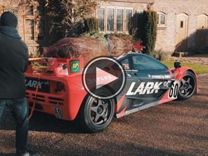 Todo lo que puede hacer un McLaren F1 GTR