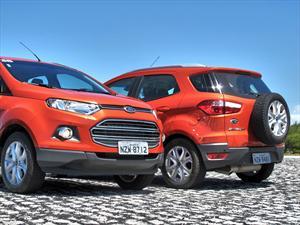 Nueva Ford Ecosport: versiones, motores y equipamientos para Argentina.