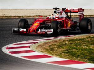 F1: Ferrari y Vettel lideran el primer día de pruebas de 2016