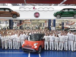 FIAT celebra la fabricación de medio millón de unidades de 500L