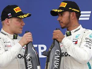 F1: Hamilton, puros elogios para Bottas