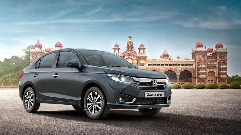 Honda Amaze 2022, se actualiza el sedán más pequeño de la marca