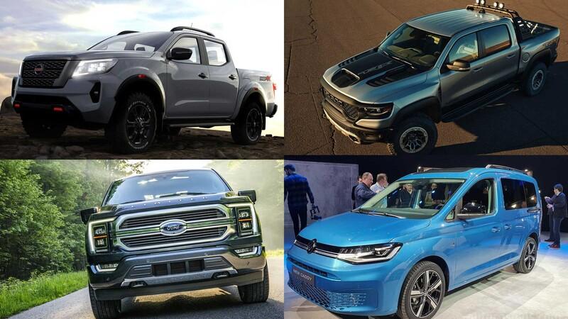 Todas las pickups y utilitarios que llegan a México en 2021