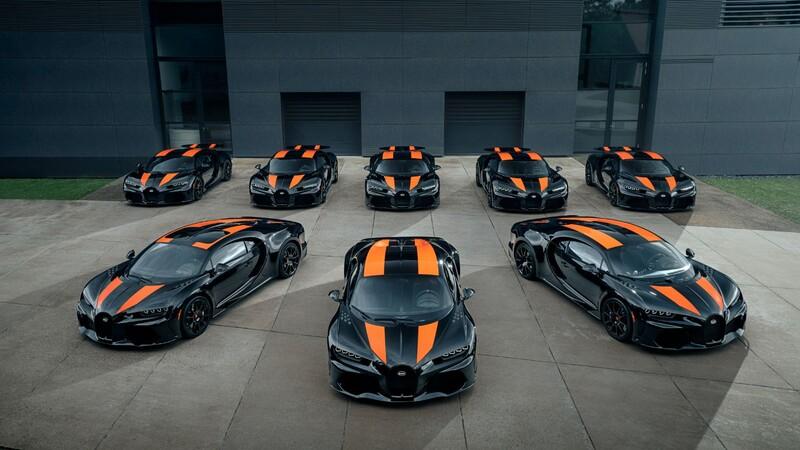 Bugatti inicia las entregas del impresionante Chiron Super Sport 300+