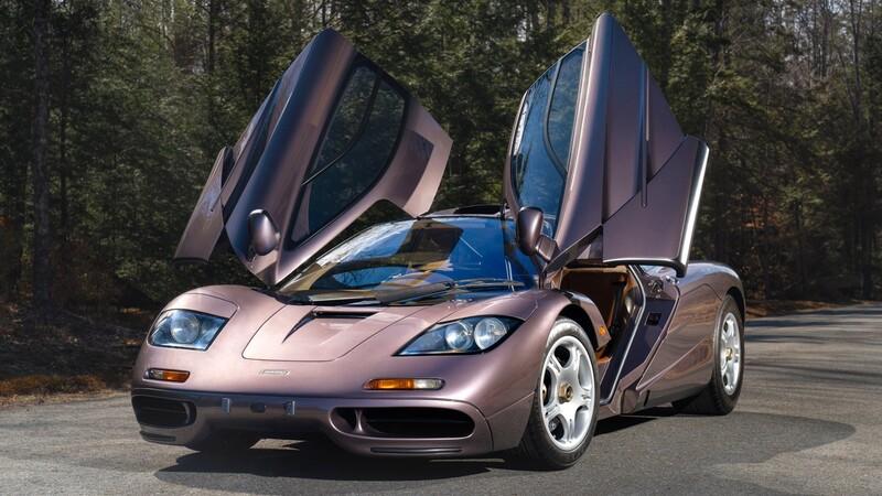 Este es el McLaren F1 más caro del mundo