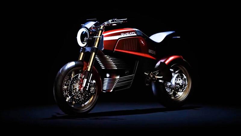 ¿Y si esta Ducati eléctrica se vuelve realidad?
