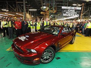 Ford alcanzó el millón de Mustang producidos