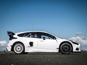 Conozca el nuevo Ford Focus RS Rallycross de Ken Block