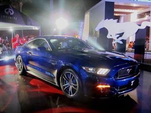 Ford Mustang 2015 se presenta en México