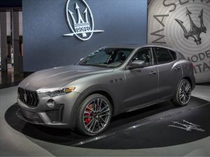 Maserati Levante Trofeo 2019, con el poder de un motor Ferrari V8
