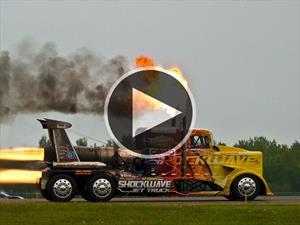 Jet Shockwave Truck, un camión con 36 mil caballos de fuerza