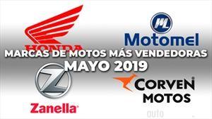 Top 10: Las marcas de motos más vendedoras de mayo 2019