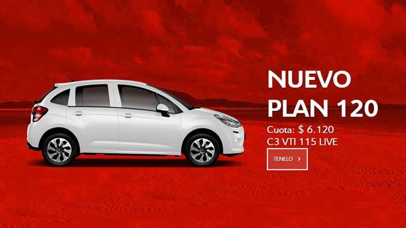 ¿Querés un C3? Citroën Argentina te lo ofrece con Plan 120