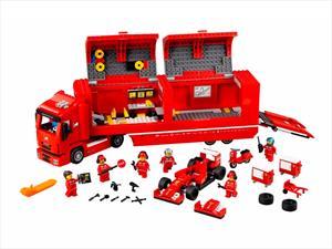 LEGO logra alianza con Ferrari, Porsche y McLaren