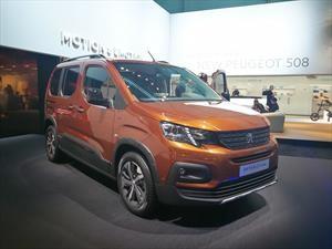 Peugeot Rifter 2019, lista para el trabajo duro
