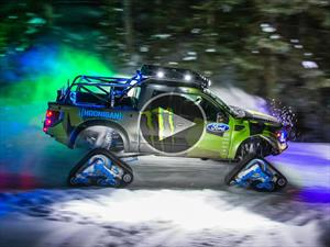 Video: Ken Block y su Ford F-150 RaptorTrax en acción