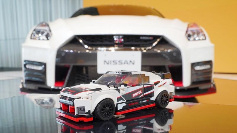 ¿Quieres ganarte un Nissan Lego GTR Nismo?