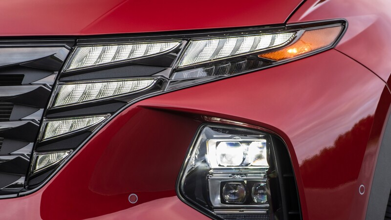 ¿Son luces o parrilla? Conoce como funciona la iluminación oculta del Hyundai Tucson 2021