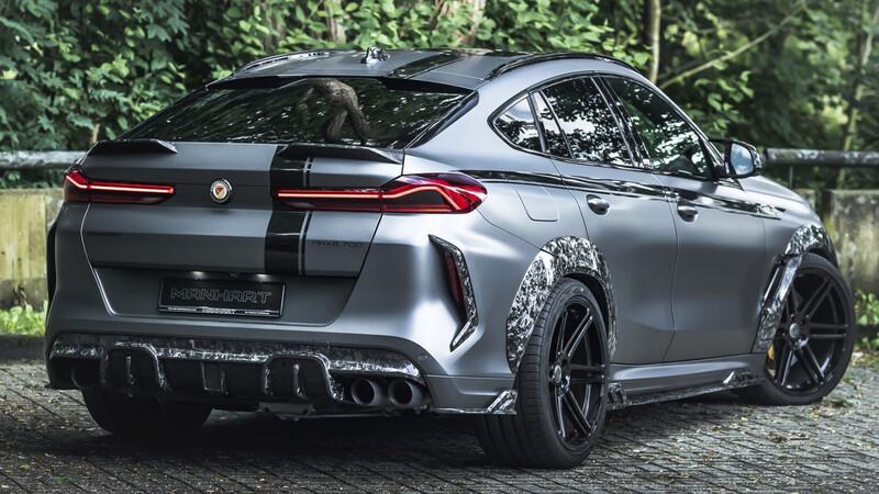 Manhart muestra una versión modificada del BMW X6