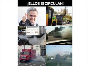 """Top 10: Los mejores memes del """"Hoy no Circula"""""""