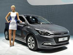 El Hyundai i20 se muestra en París