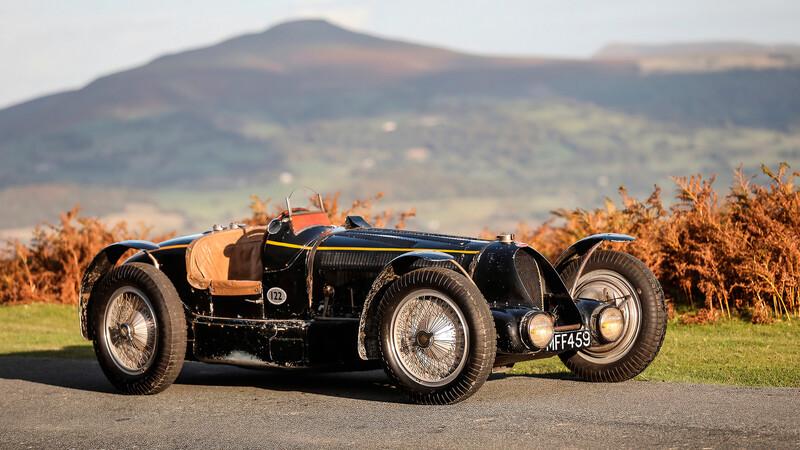 Tres raros Bugatti de los años 20s y 30s se subastarán en el Concours of Elegance 2020