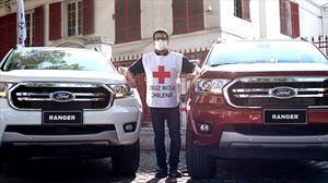 Ford Chile pone flota de autos a disposición de la Cruz Roja